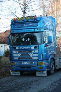 ciężarówka marki Scania